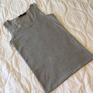 The Limited Silver Tank Top